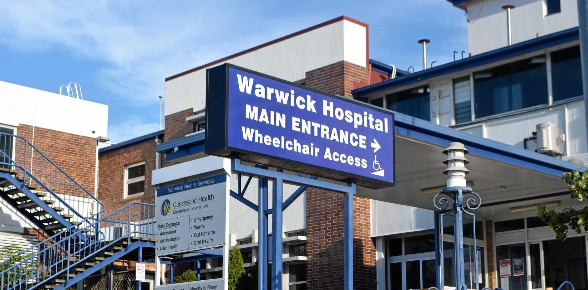 MORE ADMISSIONS: 24,000 people came through the ED at Warwick Hospital in 2017.