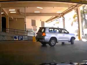 Coast's worst driver? Massive parking fail on dashcam