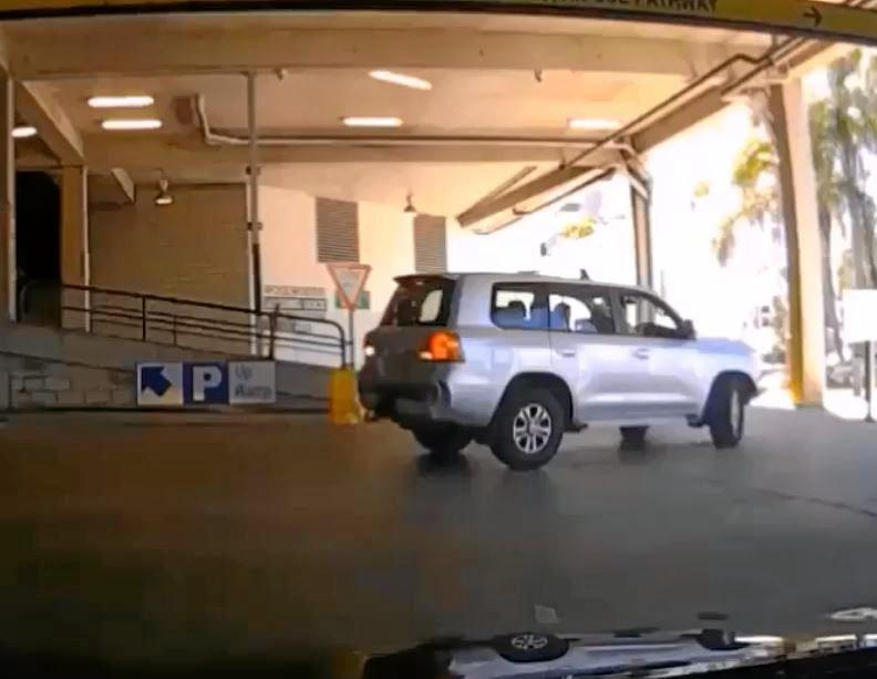 Is this Maroochydore's worst driver? Dash cam footage showing their massive fail.