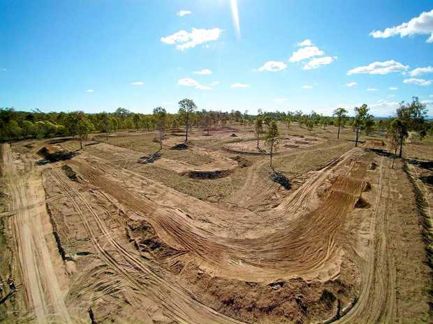 TRACKSIDE: The Willowbank MX motorcross track.