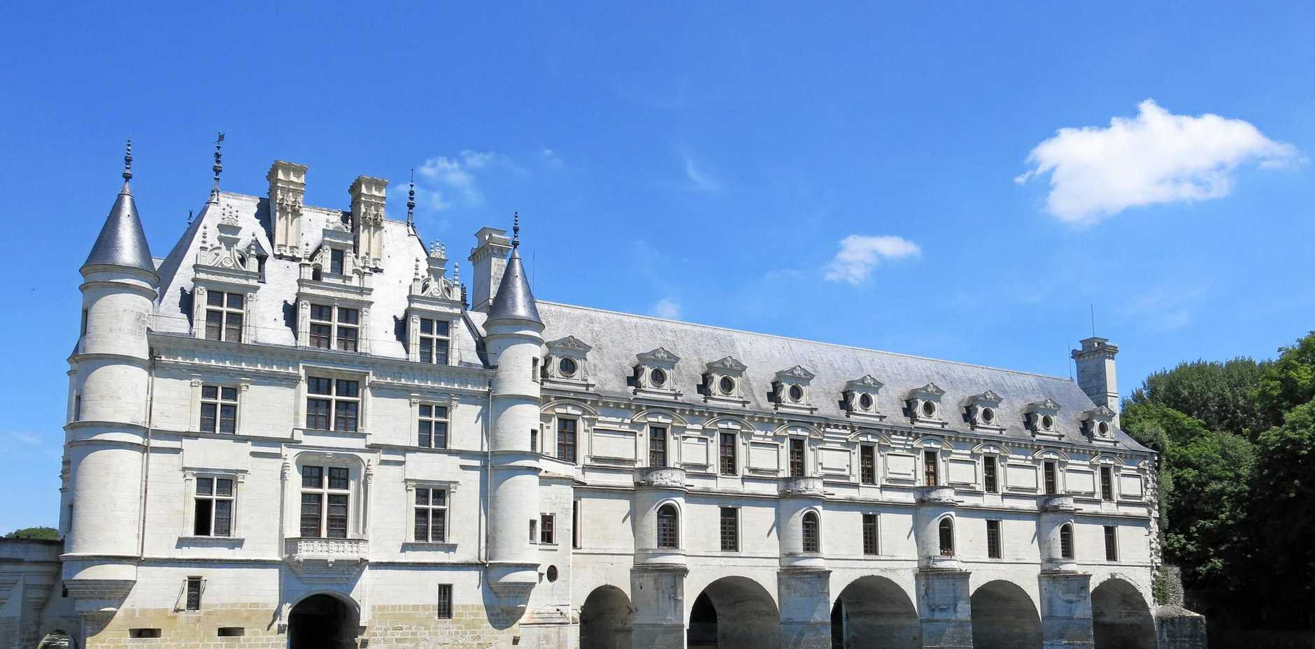 FRENCH CONNECTION: Chateau de Chenonceau, spanning the River Cher, near the village of Chenonceaux, France.