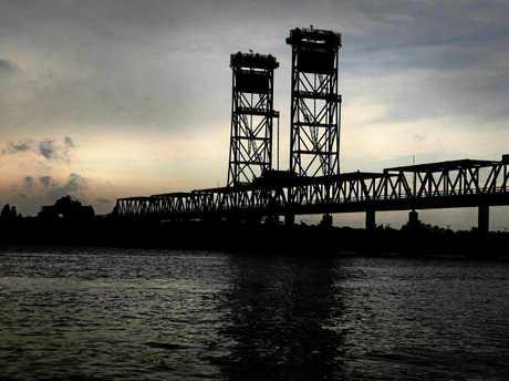 ARTIST'S VIEW: Harwood bridge.