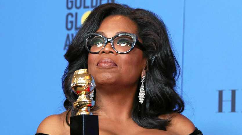 ME TOO: Oprah Winfrey delivered a powerful speech on women's rights after being presented the 2018 Golden Globe Cecil B. DeMille Award .