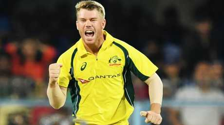 David Warner will play a key role at the top of the order. Picture: AFP