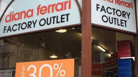 Diana Ferrari will close all its stores.