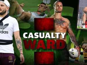 NRL pre-season casualty ward 2018