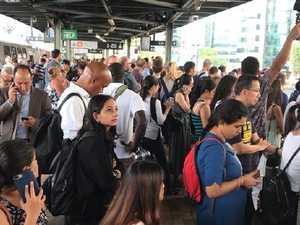 Ironic advice to avoid train delays