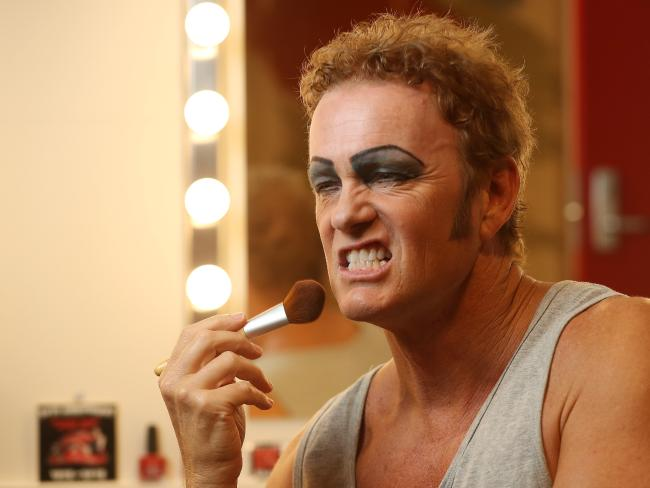 Craig McLachlan has been accused of inappropriate behaviour. Picture: Calum Robertson