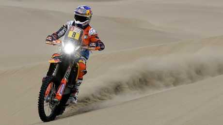 Toby Price won Stage 11 of the Dakar Rally.