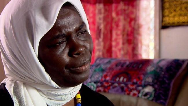 Mother-of-six Asha Awya. Source: A Current Affair/Channel 9.