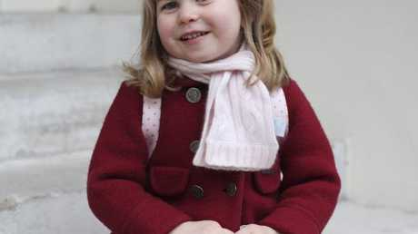 Princess Charlotte sis adorable in the photos taken by her proud mum. Picture: Duchess of Cambridge via AP
