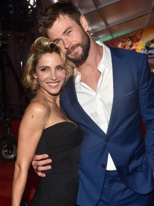 Elsa Pataky and actor Chris Hemsworth