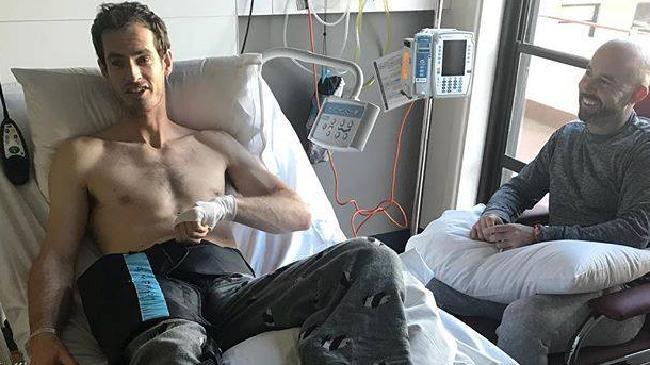 Andy Murray has had hip surgery