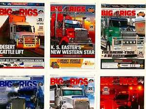 Pick your favourite 2017 Big Rigs cover