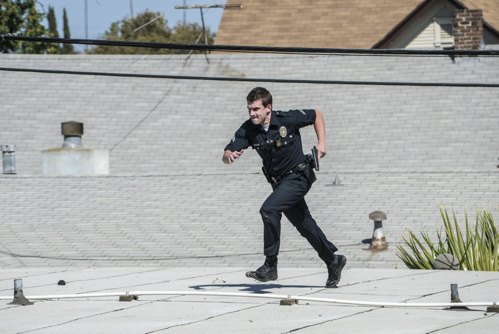 Alex Russell plays Jim Street in the TV series S.W.A.T.
