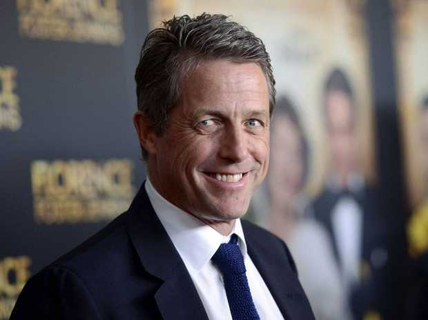 Hugh Grant's girlfriend has a 'pretty pregnancy glow'