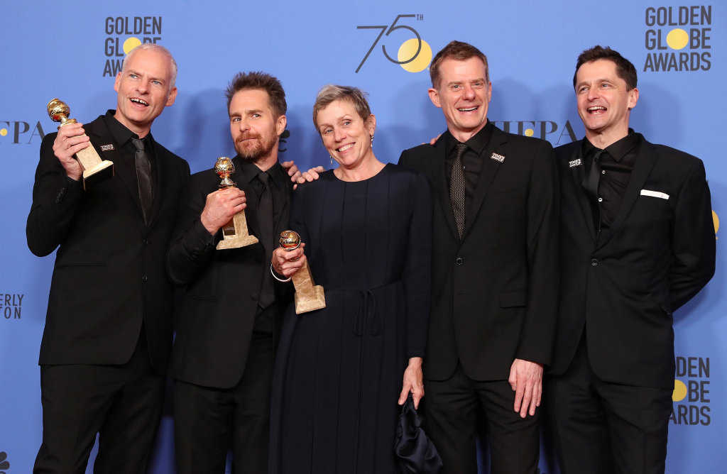 The team behind Three Billboards were thrilled with their night, but Hollywood should be doing better.