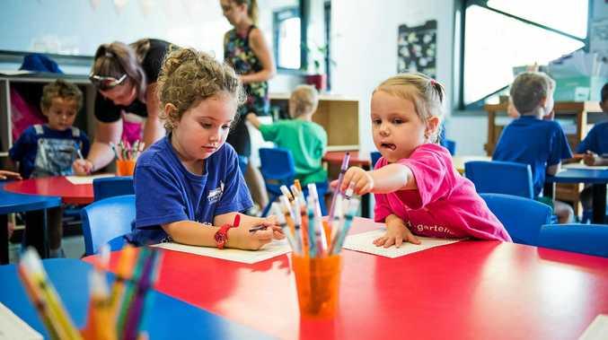 KINDY KIDS: St Catherine's will have its second cohort of kindergarten children in 2018.