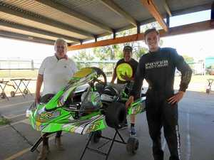 TOP SPEED FOR JAMES: Litzow to compete in national series