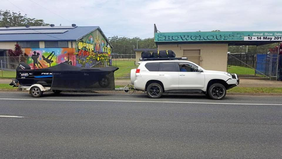 A boat has been stolen from a Hervey Bay locked boat yard and was last seen in the Yeppoon area.