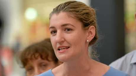 Minister for Employment Shannon Fentiman.