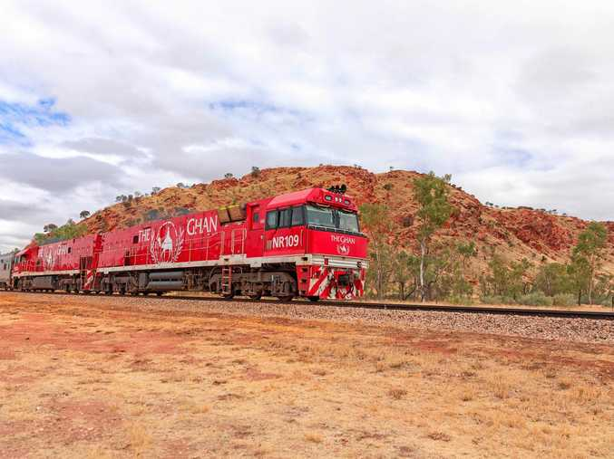 A scene from the TV series The Ghan.
