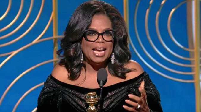 Oprah Winfrey's Golden Globes speech has gone viral.