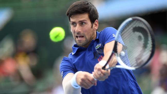 Novak Djokovic made a successful return to competitive tennis.