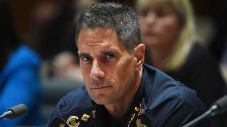 Australian Border Force Commissioner Roman Quaedvlieg. Picture: AAP/Mick Tsikas