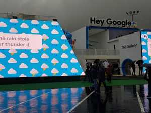 CES 2018: Google comes unstuck by flooding desert rains