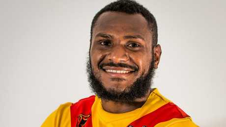 Kato Ottio played all four games for the Kumuls in the 2017 World Cup