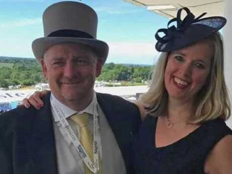 Richard Cousins and his fiancee Emma Bowden both died in the New Year's Eve plane crash.
