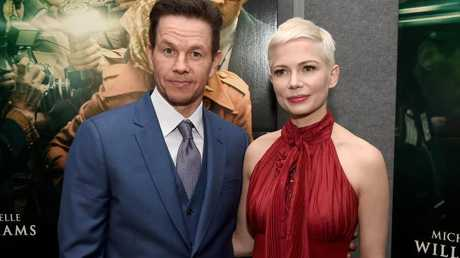 Mark Wahlberg and Michelle Williams at the premiere of All The Money In The World.