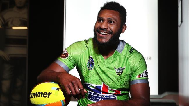 There has been an outpouring of grief around the world following the sudden passing of former Raider Kato Ottio. Photo: Brett Costello