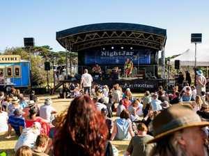 Wild festival brawl sparks lockdown