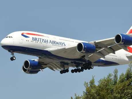 A British Airways plane takes to the skies. Picture: Eric Salard