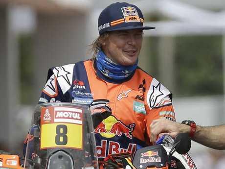 Toby Price of Australia.