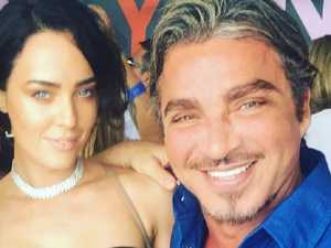 John Ibrahim's lover chills out in Byron Bay on bail