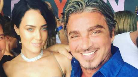 Sarah Budge and nightclub owner John Ibrahim.