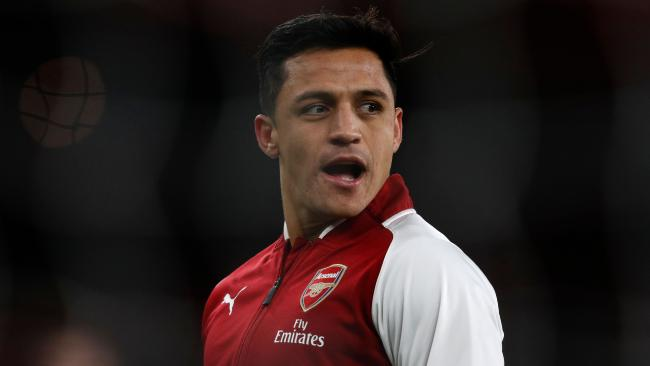 Arsenal's Chilean striker Alexis Sanchez