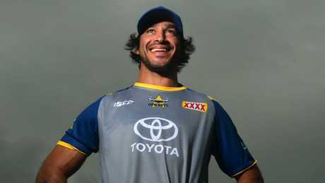 Cowboys star Johnathan Thurston. Picture: Evan Morgan
