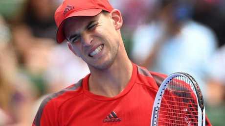 Dominic Thiem had no answers to Djokovic's ground strokes.