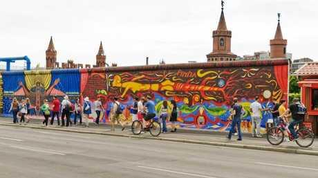 The Berlin Wall East Side Gallery.
