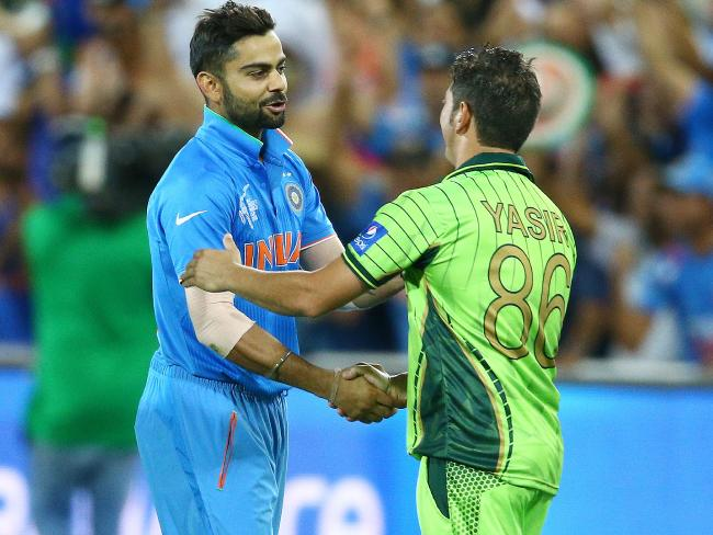 India and Pakistan squared off in Adelaide, 2015.