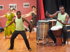 Come and learn groovy, contagious African Rhythms & Dance in a fun easy Workshop with Koffie Fugah from Ghana, West Africa.