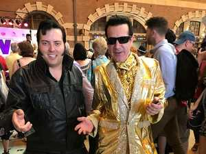 All aboard the Elvis Express Train
