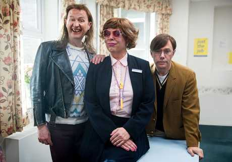 Mark Gatiss, Steve Pemberton and Reece Shearsmith reunite for three new episodes of The League of Gentlemen.
