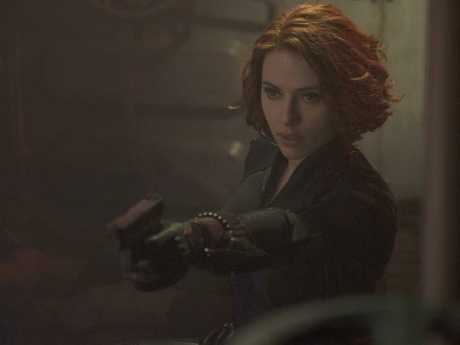 Scarlett Johansson in Avengers: Age Of Ultron.