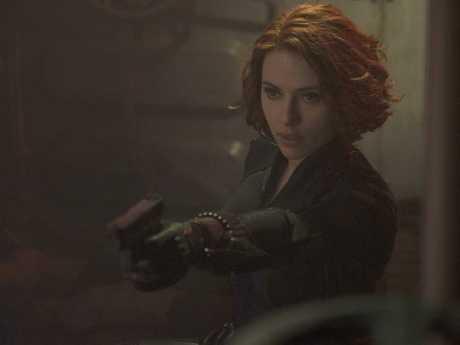 Scarlett Johansson in Avengers: Age Of Ultron.
