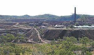 Mount Morgan mine.